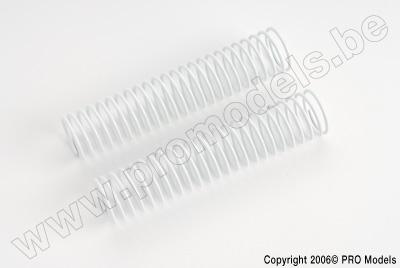 Protech RC - Shock Spring Rear White 1,5mm T30.021