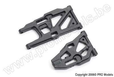 Protech RC - Front + Rear Lower Suspension Arms T30.025