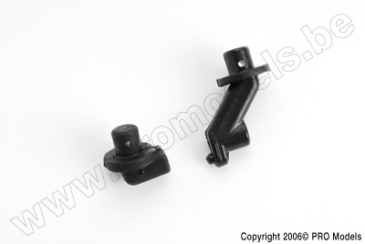 Protech RC - Front + Rear Body Mount T30.046