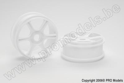 Protech RC - Wheel White T30.133