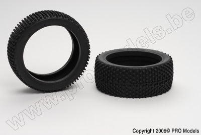 Protech RC - 1/8Th Buggy Tire (Square) T30.165