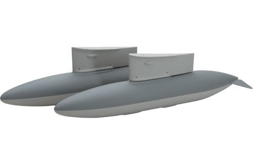 FL Hunter Abwurftank Set FlyingLegend Q-FL150/DT