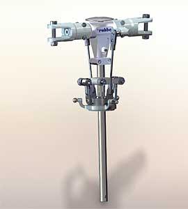 Rigid-Umbausatz T-REX 600 Robbe S2637 1-S2637