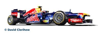 Red Bull Racing RB8 (Webber) Revell 07075