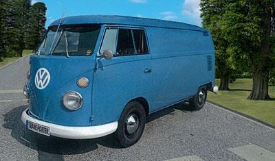 VW T1 Transporter (Kastenwage Revell 07076