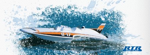 Aquacraft Mini Thunder Hydro Plane RTR Revell RC Pro AQUB16A1