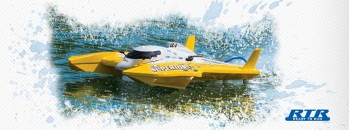 AquaCraft UL-1 Superior Hydroplane 2.4GHz RTR gelb AQUB20YY