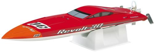 AquaCraft Revolt 30 Rennboot 2.4 GHz RTR Rot/Weiß AQUB24RW