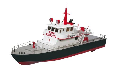 AquaCraft Rescue 17 Feuerlöschboot 2.4GHz RTR AQUB5700