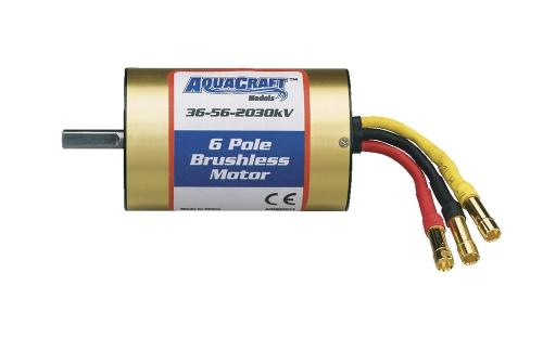6-Pole 36-56-2030 Brushless Mari AQUG7001