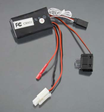 Aquacraft Rx/Esc A2 w/On/Off Switch Min Revell RC Pro AQUM3508