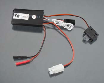 Aquacraft Rx/Esc A4 w/On/Off Switch Min Revell RC Pro AQUM3510