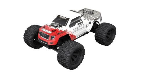 Granite 2WD Mega Brushed 1/10 Monstertruck rot AR102604