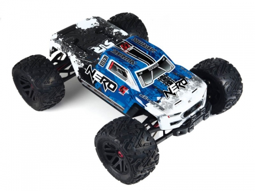 ARRMA NERO 6S EDC 4WD BLX Monster Truck RTR, blau AR106011