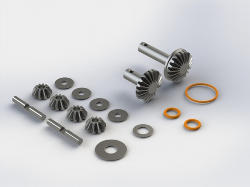 Differential-Getriebeteile Set (1) NERO AR220038