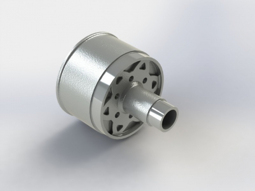 Differentialgehäuse, Alu NERO AR310558