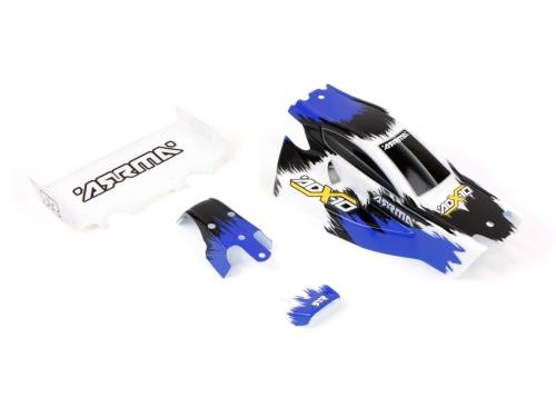 Karosserie ADX10, blau AR402016