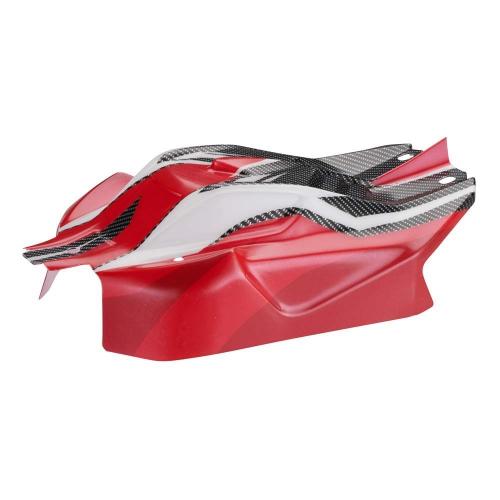 Karosserie TYPHON 6S BLX, rot (bedruckt & zugeschn AR406001