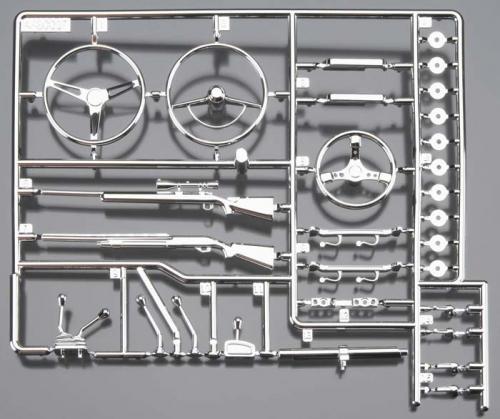 Karosserieteile, Interieur, chrom AX80047