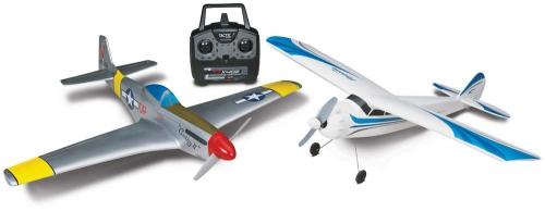 AirCore Mini P-51 + Priciple Trainer RTF Startset FLZA3900