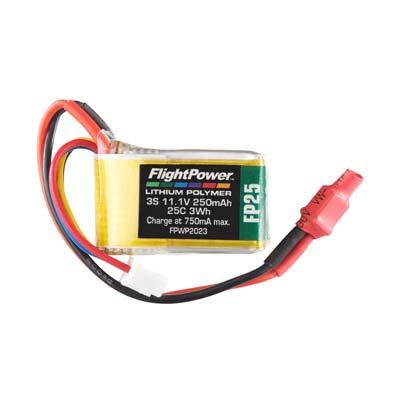 LiPo FP25 11,1 V, 250mAh FPWP2023
