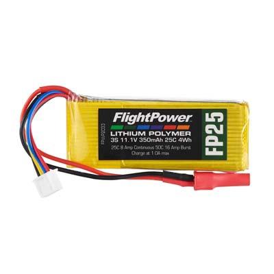 LiPo FP25 11,1 V, 350mAh FPWP2033