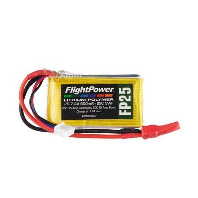 LiPo FP25 7,4  V, 600mAh FPWP2062