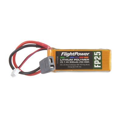 LiPo FP25 7,4  V, 800mAh FPWP2082