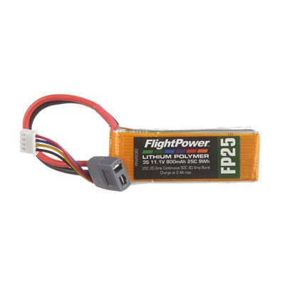 LiPo FP25 11,1 V, 800mAh FPWP2083