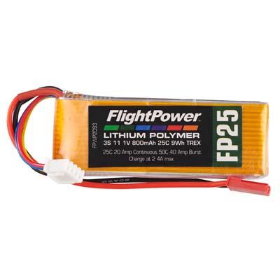 LiPo FP25 Trex 11,1 V, 800mAh FPWP2093
