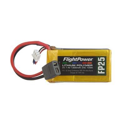LiPo FP25 7,4 V, 1300mAh FPWP2132