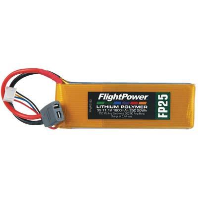 LiPo FP25 11,1 V, 1800mAh FPWP2183