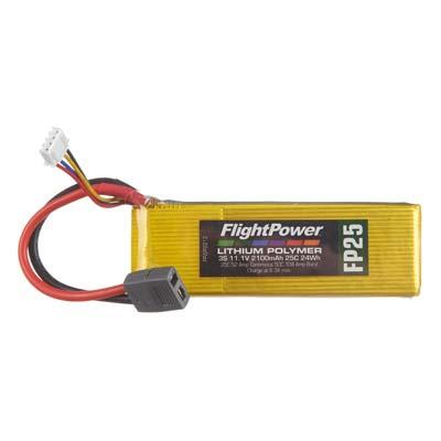 LiPo FP25 11,1 V, 2100mAh FPWP2213