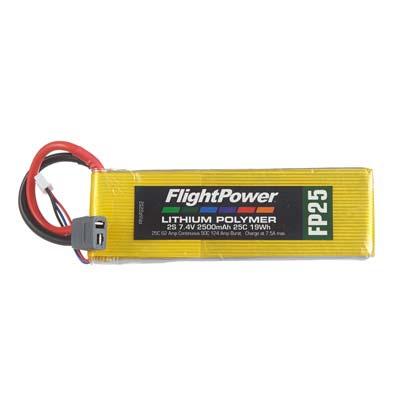 LiPo FP25 7,4 V, 2500mAh FPWP2252