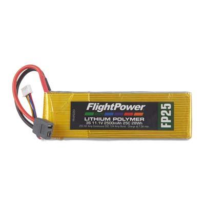 LiPo FP25 11,1 V, 2500mAh FPWP2253