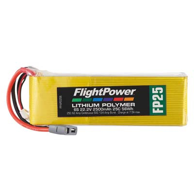 LiPo FP25 22,2 V, 2500mAh FPWP2256