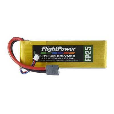 LiPo FP25 7,4 V, 3300mAh FPWP2332