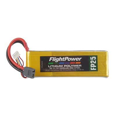 LiPo FP25 11,1 V, 3300mAh FPWP2333