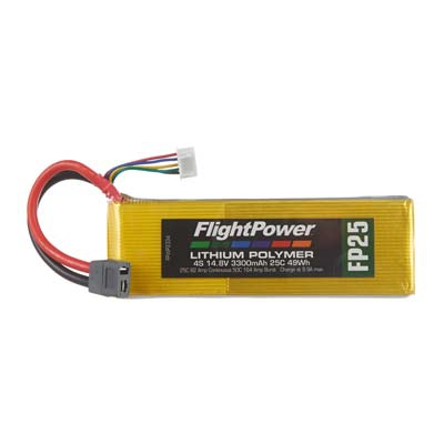 LiPo FP25 14,8 V, 3300mAh FPWP2334
