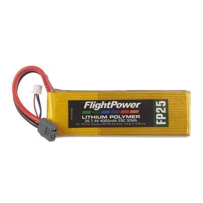 LiPo FP25 7,4 V, 4000mAh FPWP2402