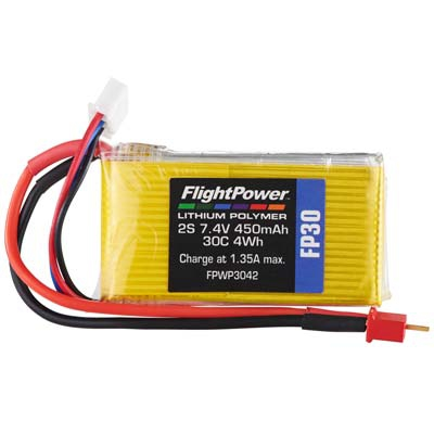 LiPo FP30 7,4 V, 450mAh FPWP3042
