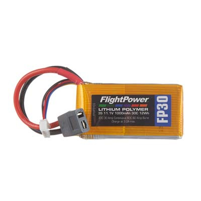 LiPo FP30 11,1 V, 1000mAh FPWP3103