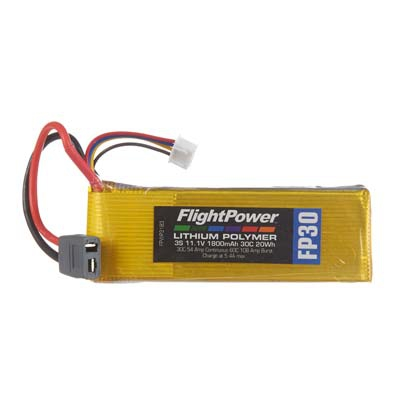 LiPo FP30 11,1 V, 1800mAh FPWP3183