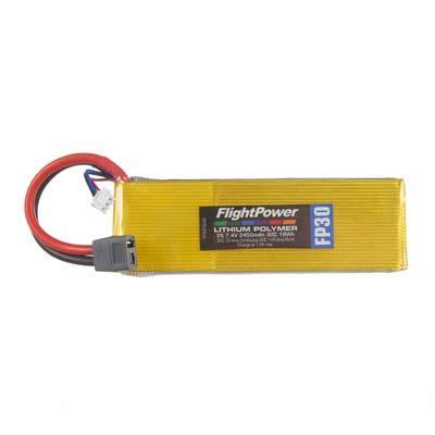 LiPo FP30 7,4 V, 2450mAh FPWP3242
