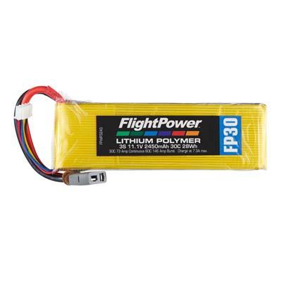 LiPo FP30 11,1 V, 2450mAh FPWP3243