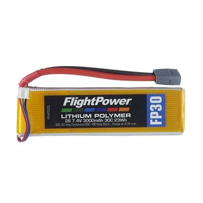 LiPo FP30 7,4 V, 3000mAh FPWP3302