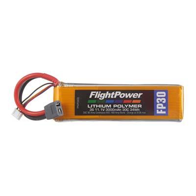 LiPo FP30 11,1 V, 3000mAh FPWP3303