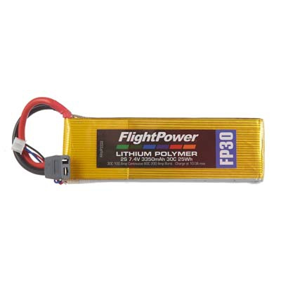 LiPo FP30 7,4 V, 3350mAh FPWP3332
