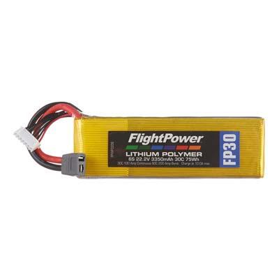 LiPo FP30 22,2 V, 3350mAh FPWP3336