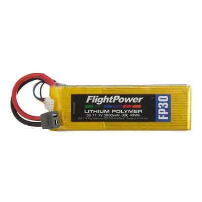 LiPo FP30 11,1 V, 3800mAh FPWP3383